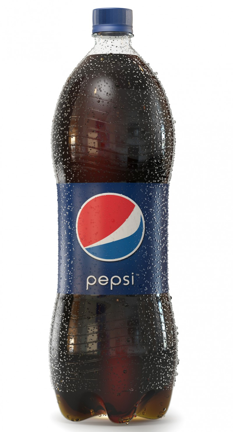 Pepsi Cola bottle rendering