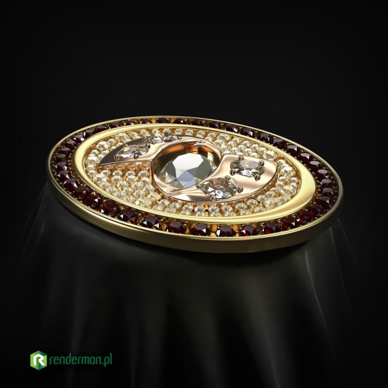 Jewellery rendering