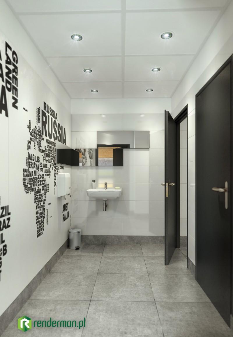 Wizualizacja toalety