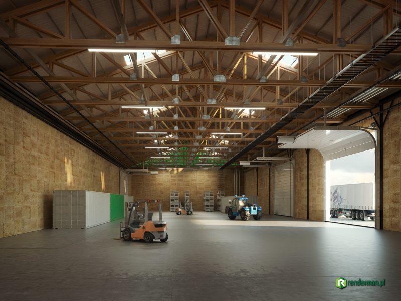 Warehouse rendering