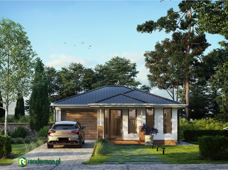 Branford road home rendering