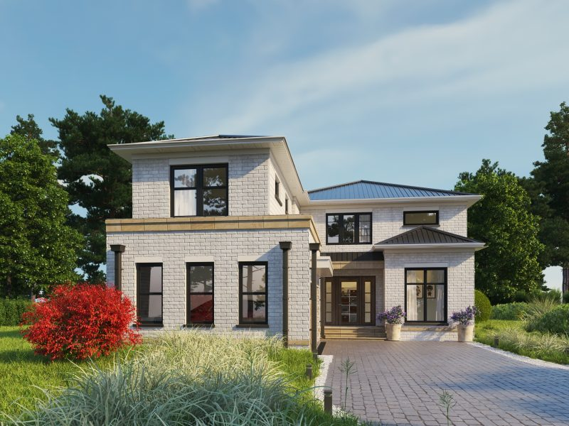 Peltham Drive home rendering