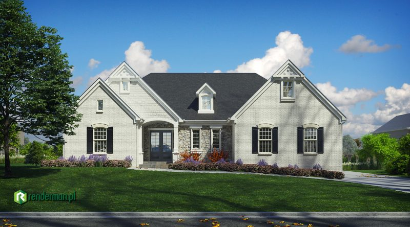 House rendering