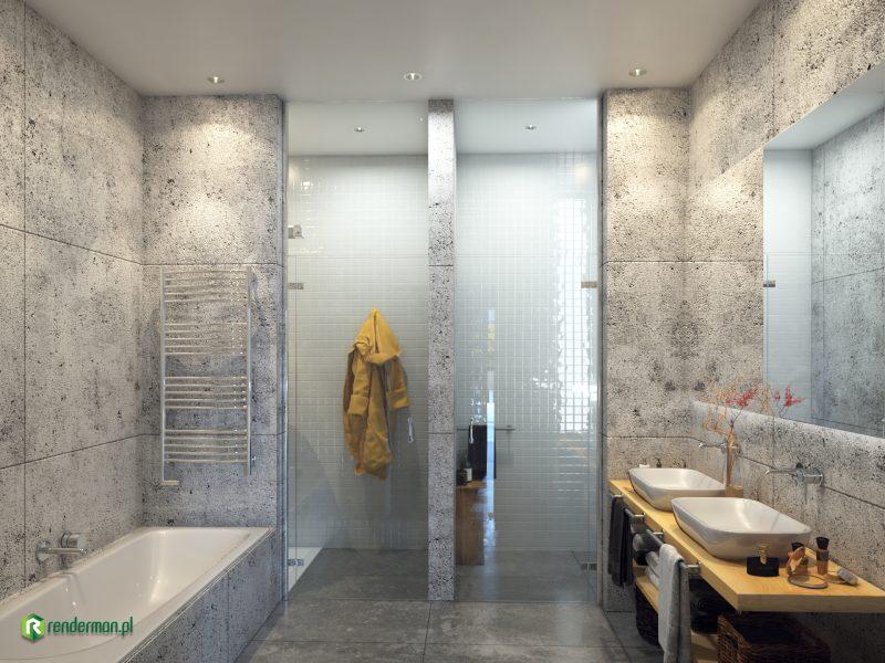 Bath rendering