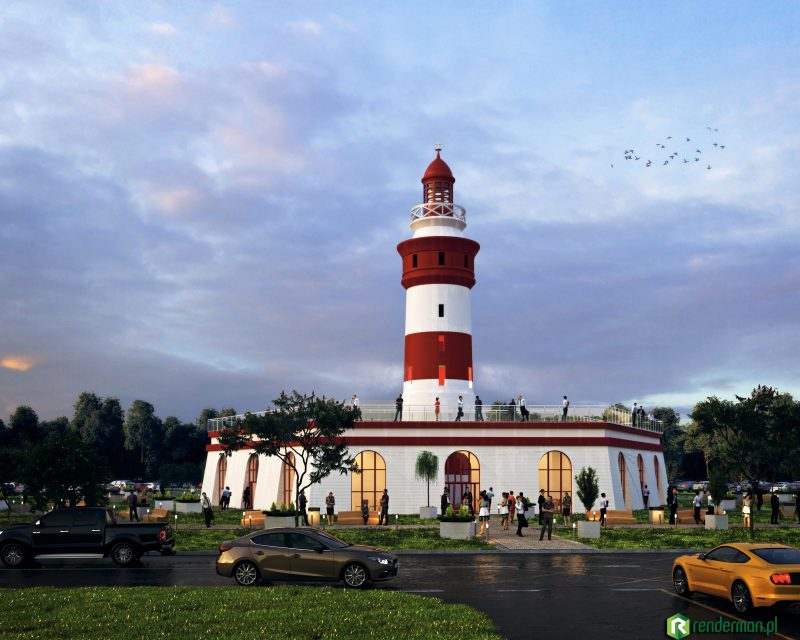 Lighthouse rendering